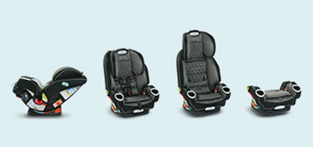 4-in-1 Car Seats