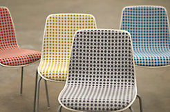 Dot Grid on Andaz Guest Chair