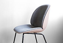 Beetle by Gubi® Upholstered Barstool
