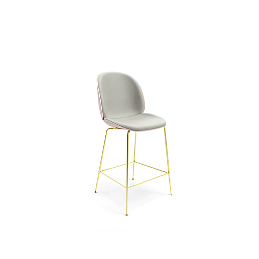 Beetle by Gubi® Upholstered Counter Stool