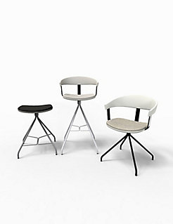 Essens Guest Chair and Stools