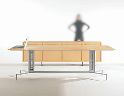 LOGICmeet Table + Credenza