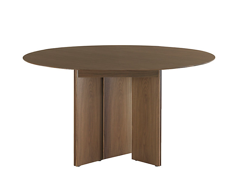 LOGICmeet Round Conference Table HBF Furniture - Pedestal conference table