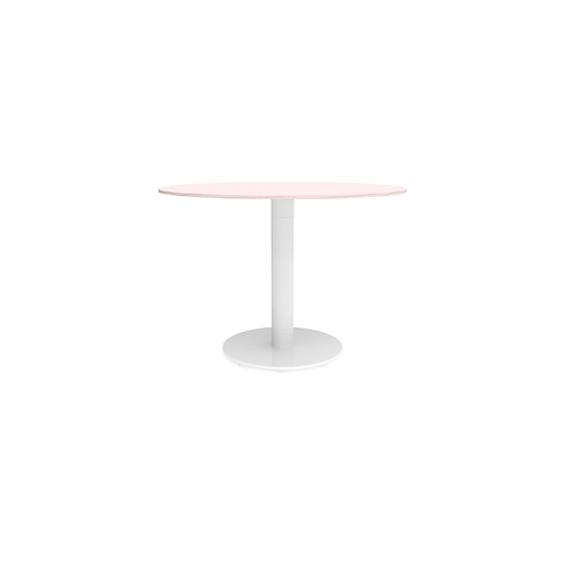 Meki Round Conference Table HBF Furniture - Round pedestal conference table