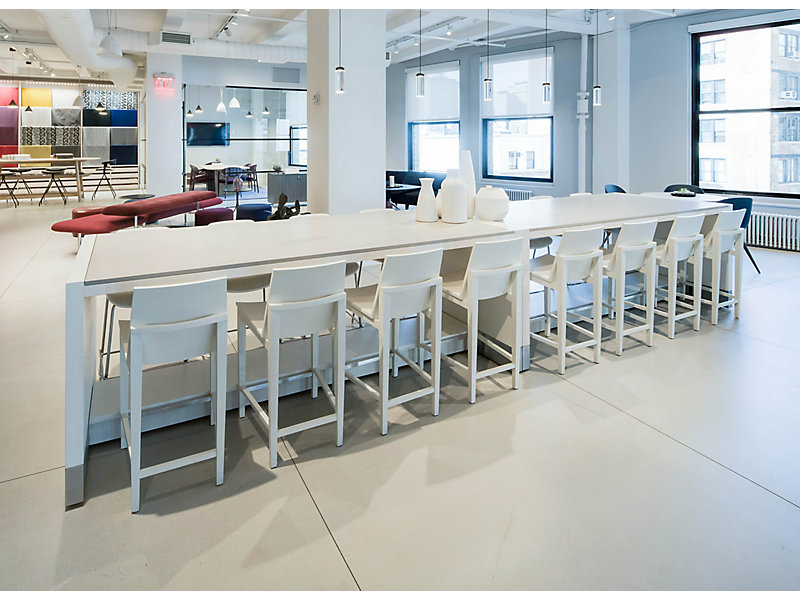 Parker Counter Height Conference Table HBF Furniture - Counter height conference table