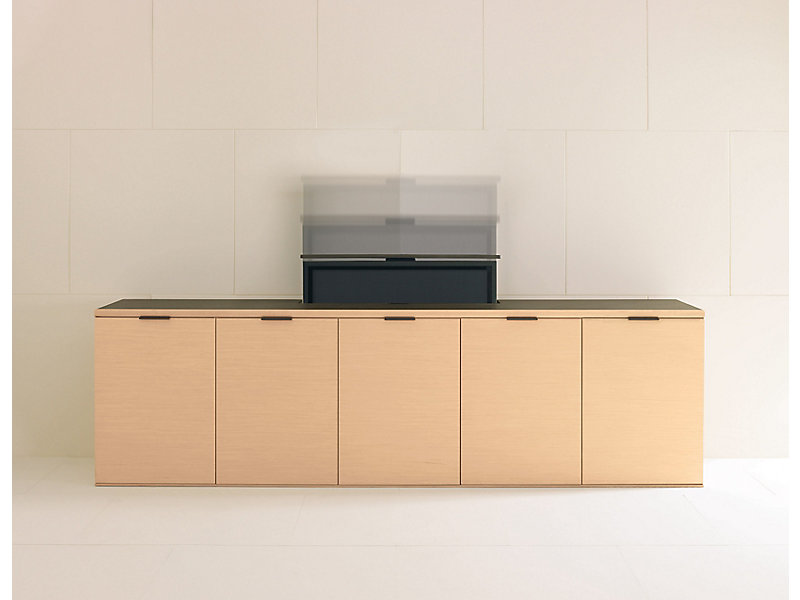 Sideboard Tv Lift linea tv lift and projection credenzas | hbf furniture