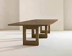 Linea Arch Boat Conference Table