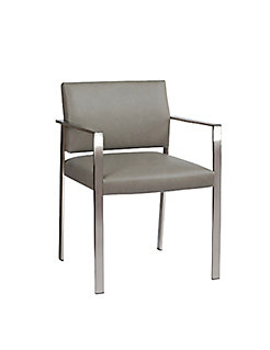 Corfino Guest Chair - Mid Rectangular Open Back