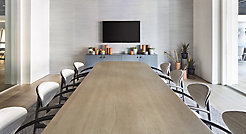 Karina Guest Chairs + Harmoni Conference Table