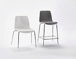 Andaz Guest Chair + Upholstered Counterstool