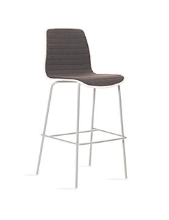 Andaz Mid Back Channel Stitched Barstool