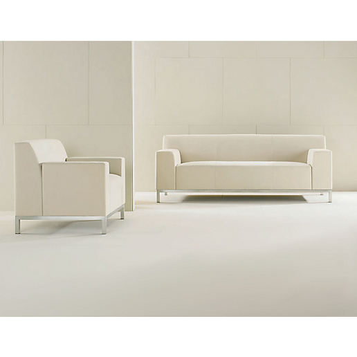 Bianco Sofa and Lounge Chair