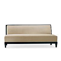 carmel armless sofa