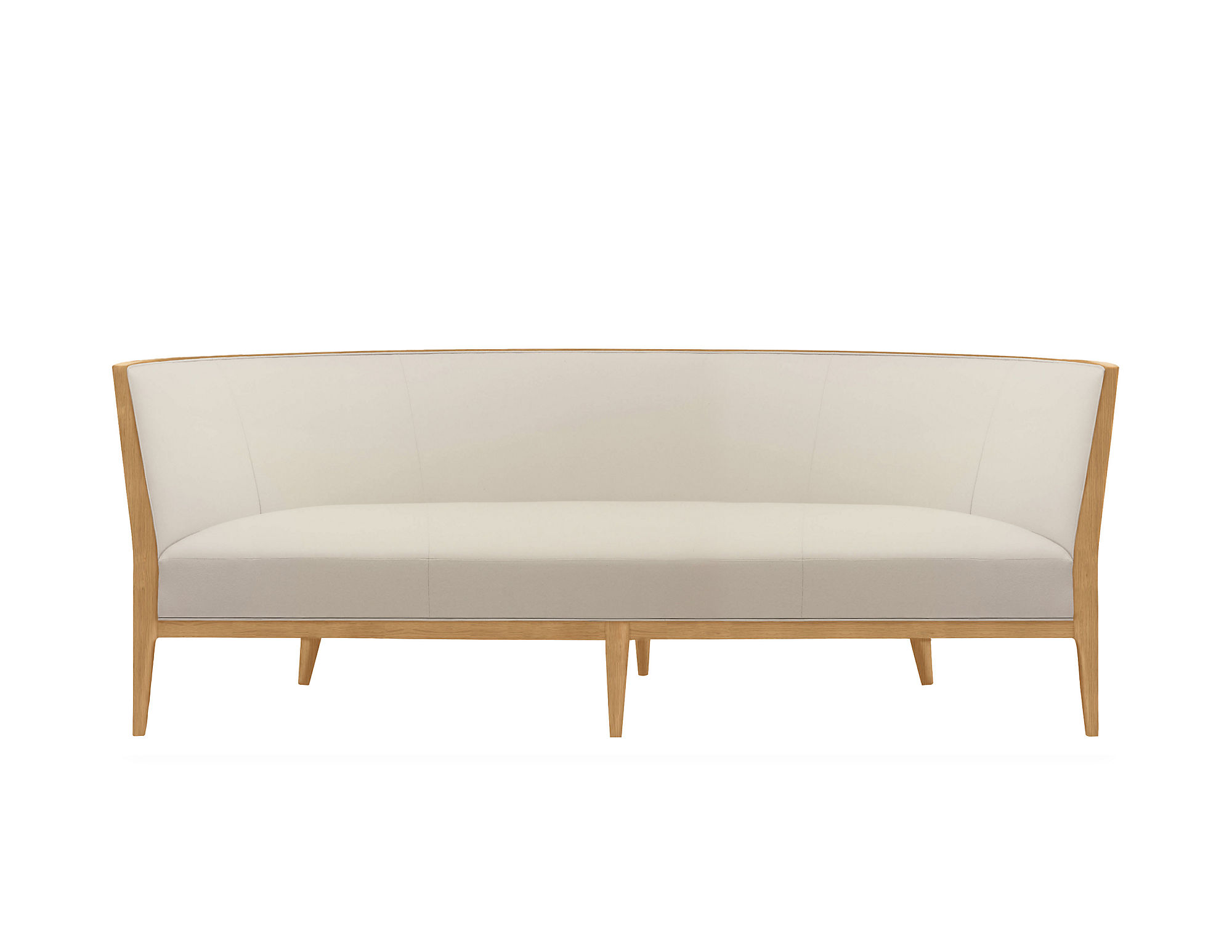 Charlotte Sofa with Wood Frame