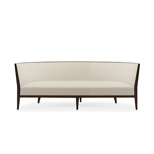 Charlotte Sofa With Exposed Wood Frame