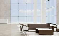 Nest Lounge Chair With Parker Occasional Tables