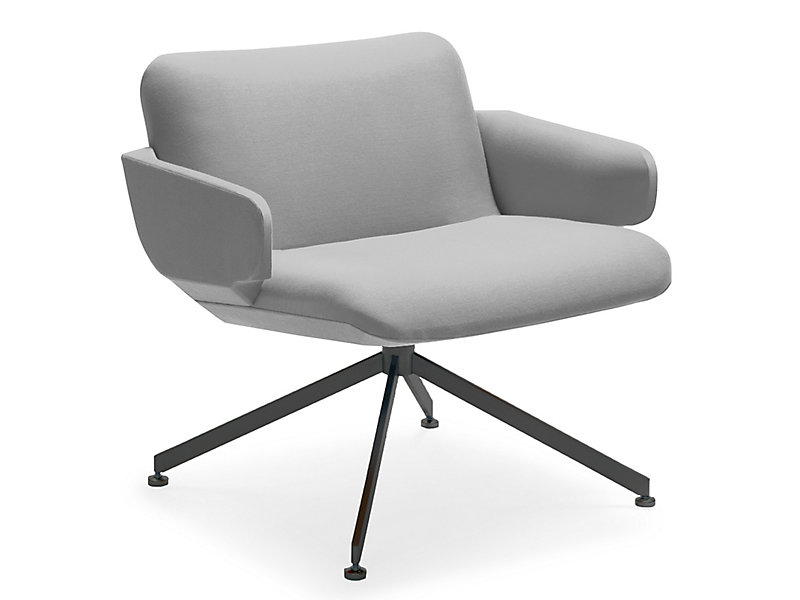 November Lounge Chair With Metal Base Hbf Furniture