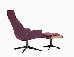 Conexus Lounge Chair + Ottoman