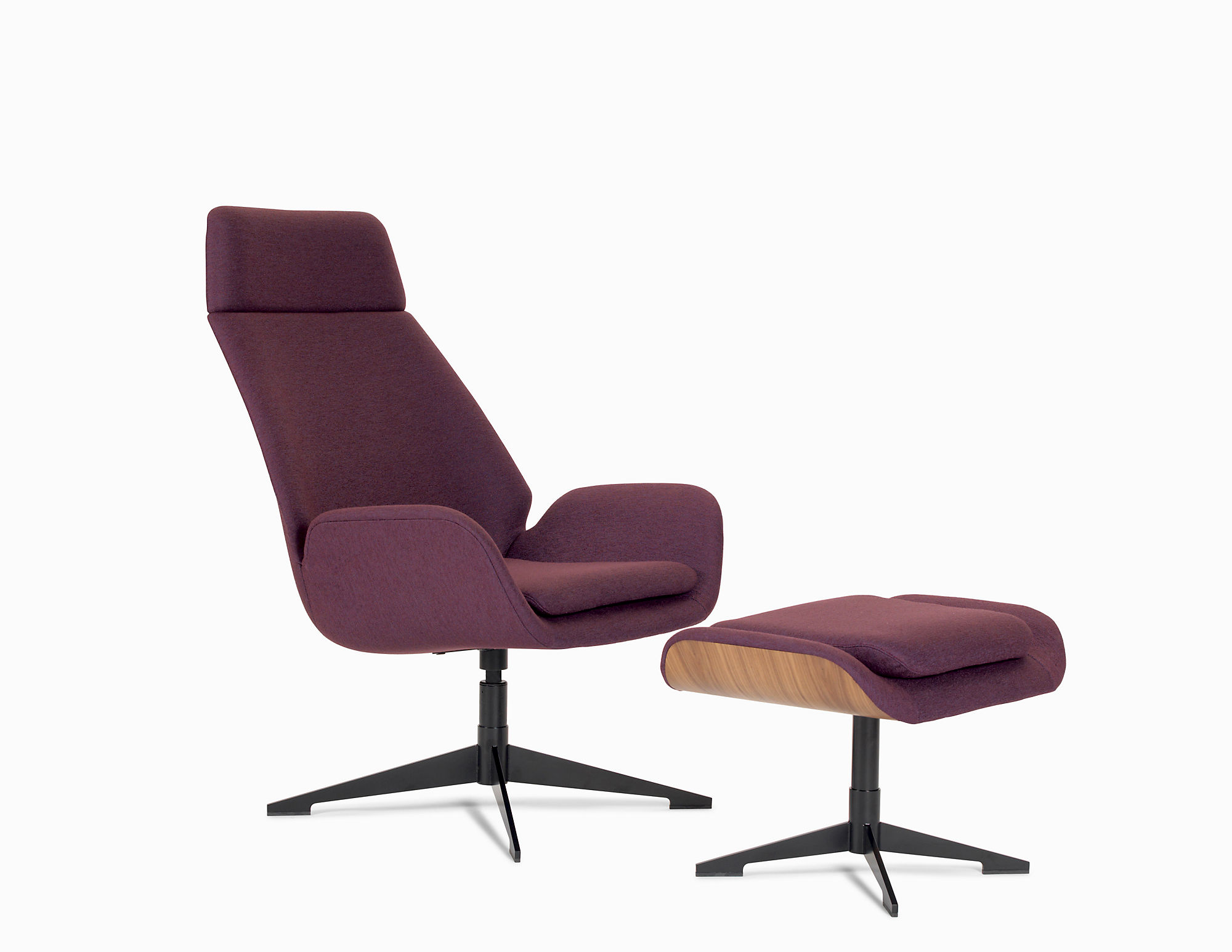 Conexus High Back Upholstered Lounge Chair