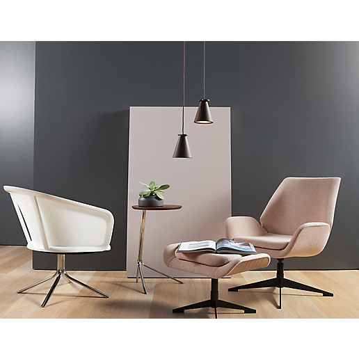 Conexus Mid Back Lounge Chair with Nest