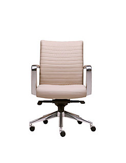 Cadre Mid Back Channel Stitched Swivel Chair - Wrap Around Arm