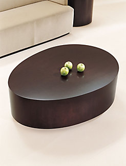 Oval Egg Coffee Table