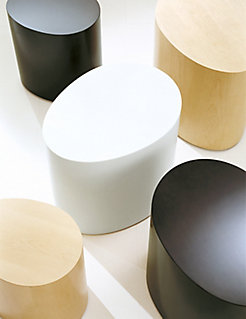 Oval Egg Side Tables