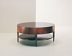 catalina round coffee table | hbf furniture