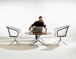 Nest Lounge Chairs + Nest Coffee Table