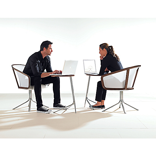 Nest Lounge Chair + Nest Satellite Tables