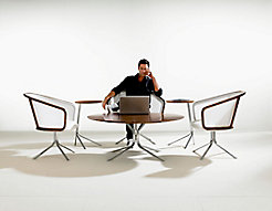 Nest Lounge Chairs, Nest Coffee and Satellite Tables