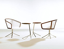 Nest Lounge Chairs + Nest Satellite Tables