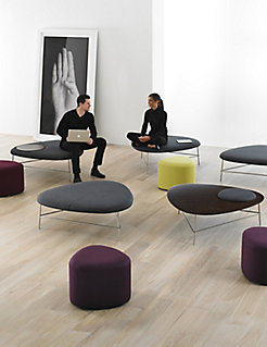 Triscape Coffee Tables, Benches and Poufs