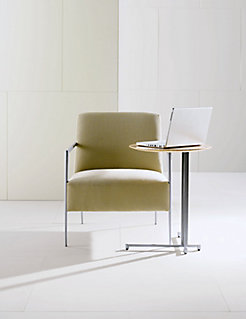 LOGICmeet Laptop Table with Cortona Lounge Chair