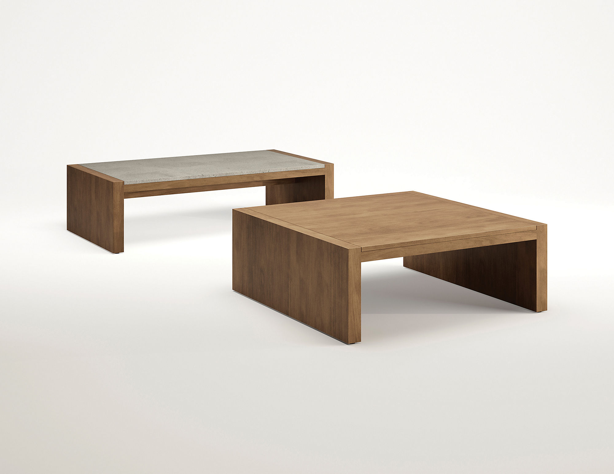 parker rectangular coffee table hbf furniture