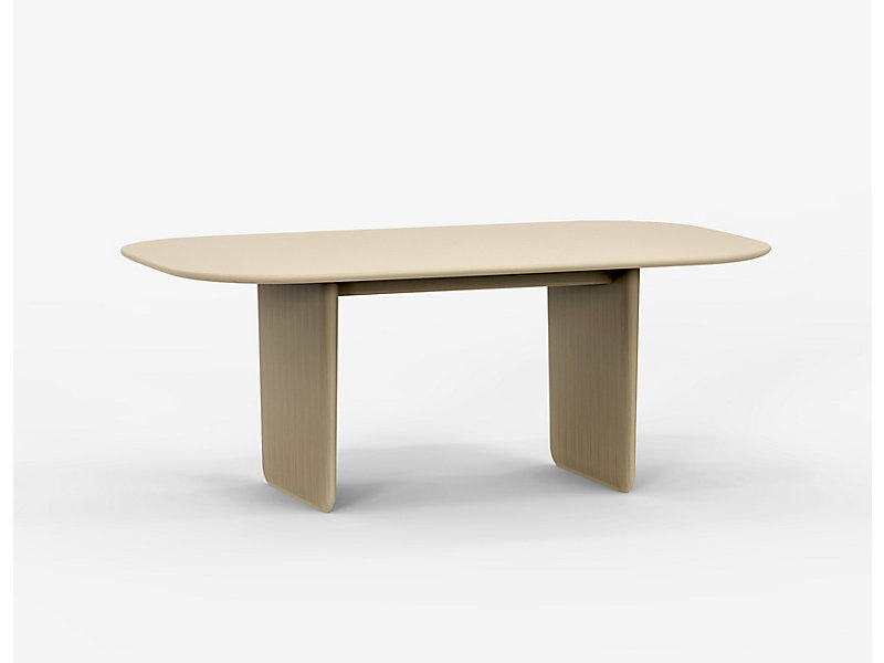 Harmoni Oval Low Conference Height Table HBF Furniture - Conference room table height