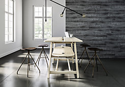 Studio Rectangular Standing Height Table with Essens Stools