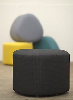 Moving In on Triscape Pouf