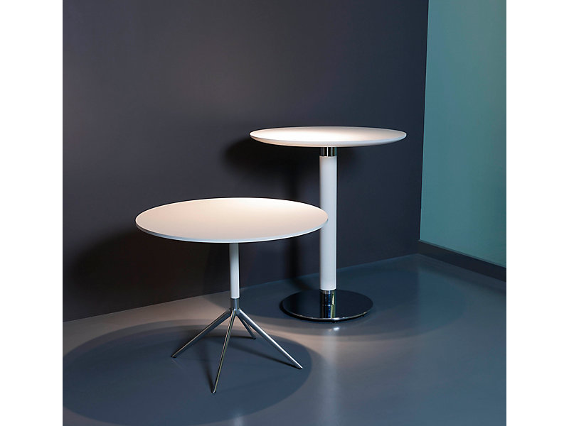 Universal Round Conference Table HBF Furniture - Blue conference table