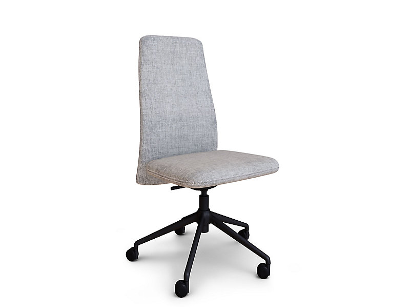 Vela Mid Back Armless Swivel Chair Hbf Furniture