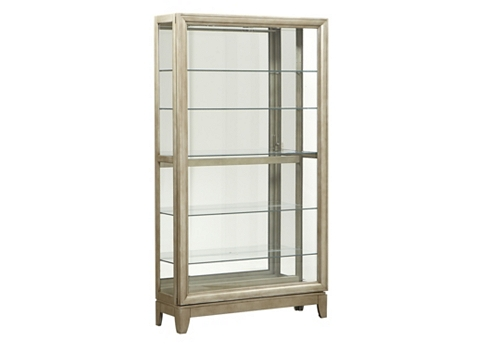London Collection Contemporary Gl Display Cabinet Juliettes