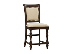 Welcome Home Upholstered Counter Height Chair Havertys