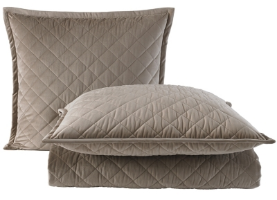 Main Quilted Velvet Coverlet Ensemble Image