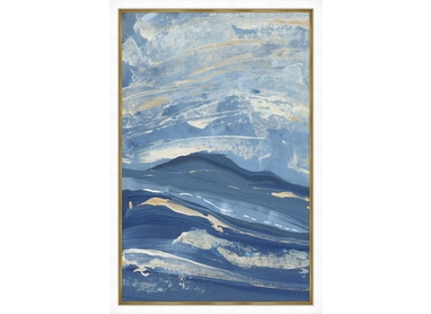 Main Waves Framed Art Image