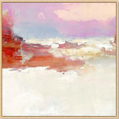 Pink Landscape Canvas