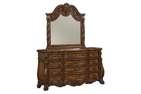 Serta I Series >> Villa Clare Dresser with Mirror   Havertys