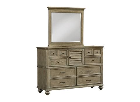 Forest Lane Dresser With Mirror Havertys