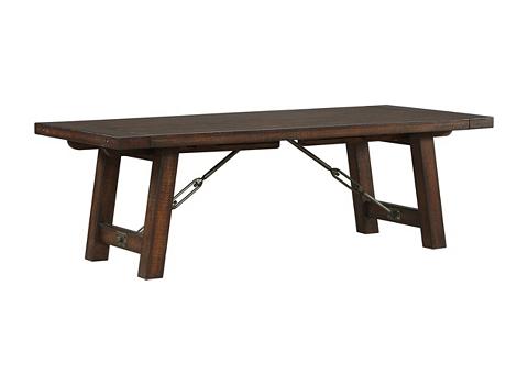Arden Ridge Trestle Table   Havertys