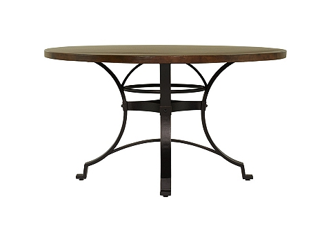 main copper canyon dining table image - Copper Kitchen Table