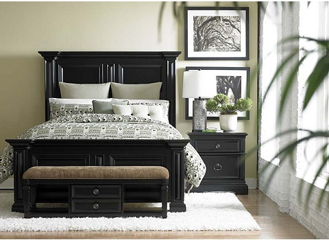 arrington bed havertys